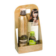 Macadamia Natural Oil Flawless Cradle worth £46.20 (250ml Flawless 6-in-1, 30ml Healing Oil, Oil Infused Comb)