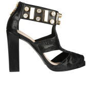 Kat Maconie Women's Chloe Jewelled Heels - Black