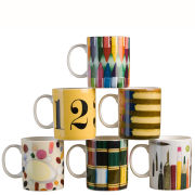 Eames Office House of Cards Set of 6 Mugs