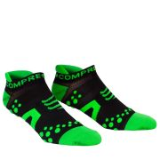 Compressport Pro Racing Socks - Run (Lowcut) - Black/Green