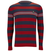 Jack & Jones Men's Tristan Jumper - Flame Scarlet