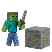 Minecraft 3 Inch Action Figure - Zombie