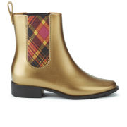 Vivienne Westwood for Melissa Women's Riding Boots - Gold Metallic