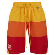 Crosshatch Men's Tripadz Swim Shorts - Orange