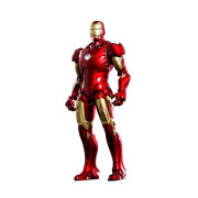 Hot Toys Marvel Iron Man Mark III Diecast 1:6 Scale Figure