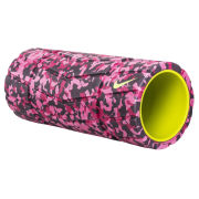 Nike Textured Foam Roller (13 Inch) - Hyper Pink/Fuschia Force/Deep Burgandy/Volt
