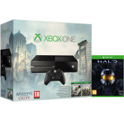 Xbox One with Assassin's Creed: Unity + Assassin's Creed: Black Flag + Halo: Masterchief Edition