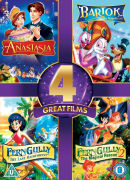 4 Great Films - Anastasia / Bartok the Magnificent / Ferngully / Ferngully 2