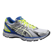 Asics Men's Gel Oberon 9 Cushioning Running Shoes - White/Pearl White/Blue