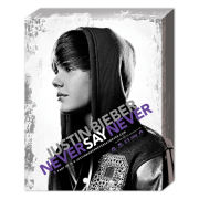 Justin Bieber Never Say - 40 x 30cm Canvas