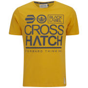 Crosshatch Men's Large-Go T-Shirt - Yellow