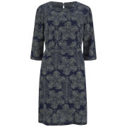 A.P.C. Women's Osaka Print Dress - Dark Navy