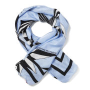 Matthew Williamson Mono Star Scarf - Baby Blue