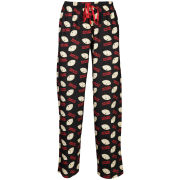 Family Guy Men's Stewie Printed Loungepant - Black