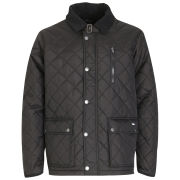Atticus Men's Quilted Jacket - Black