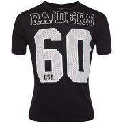 Majestic Men's Raiders Hollis T-Shirt - Black