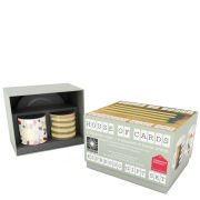 Eames Office House of Cards Espresso Gift Set of 2 - Matches and Pills
