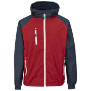 55 Soul Men's Shooter Jacket - Red/Navy/White
