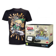 The Legend of Zelda: The Wind Waker HD Wii U Premium Pack with FREE Mens T-shirt (Black - Extra Large)