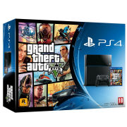Sony PlayStation 4 500GB Console - Includes Grand Theft Auto V