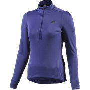 adidas Women's Response Plura Long Sleeve Jersey - Purple