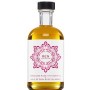 REN Moroccan Rose Otto Bath Oil (110ml)