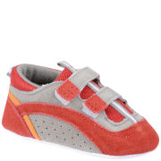 PlayShoes Suede Baby Shoes - Red