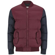 55 Soul Men's Washington Jacket - Burgundy/Navy