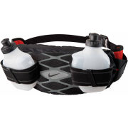 Nike Storm 2 Bottle Waistpack - Black/Cool Grey/Light Crimson