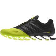 adidas Men's Springblade Drive 2 Running Shoes - Black/Yellow