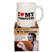 Std Mug - I heart my computer