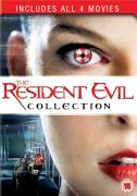 Resident Evil: 1-4 Box Set (Resident Evil / Apocalypse / Extinction / Afterlife)