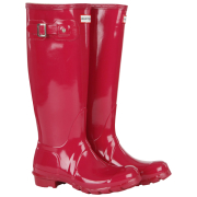 Hunter Women's Original Tall Gloss Wellies - Cranberry