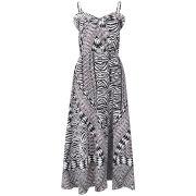 Influence Women's Tribal Print Maxi Dress - Black