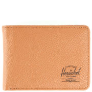 Herschel Hank Leather Wallet - Tan Pebbled Leather