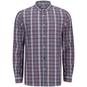 Weekend Offender Men's Asprilla Check Shirt - Blue