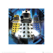 Doctor Who Daleks - 40 x 40cm Print