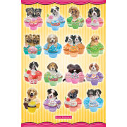 Keith Kimberlin Puppies Cupcakes - Maxi Poster - 61 x 91.5cm