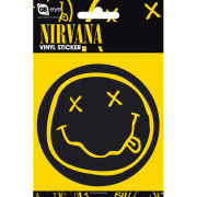 Nirvana Smiley - Vinyl Sticker - 10 x 15cm