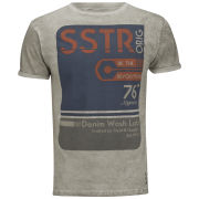 Soul Star Men's Washlab T-Shirt - Stone