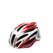 Ranking Feather Cycle Helmet - Red/Grey/White
