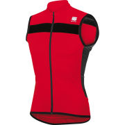 Sportful Pista Sleeveless Jersey - Red/Black