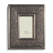 Nkuku Jambiani Metal Frame - Pewter - 4x6 Inches