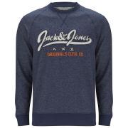 Jack & Jones Men's Fast Fashion Earnest Sweater - Navy