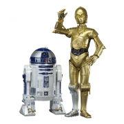 Kotobukiya Star Wars C3-PO & R2-D2 ArtFX+ Twin Pack Figures