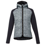 LIJA Women's Melange Shell Quilted Jacket - Charcoal/Heather/Black