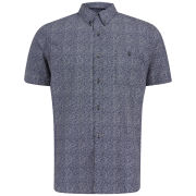 French Connection Men's Lifeline Short Sleeve Shirt - Floral