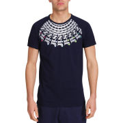 Mas-if Men's Hubbel Fan T-Shirt - Navy