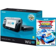 Wii U Console: 32GB Nintendo Land Premium Bundle - Black (Includes Sonic and Sega All Star Racing)