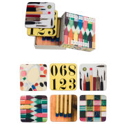 Eames Office House of Cards Mixed Coasters Set of 6